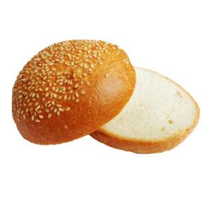 Булочка пшеничная с кунжутом