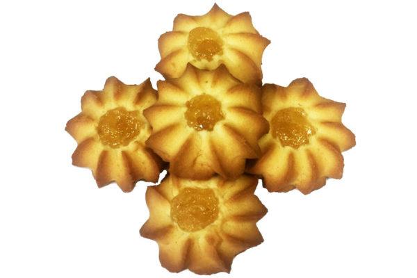 Печенье Курабье с абрикосом