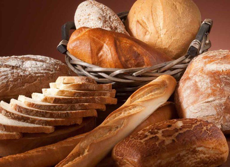 Вкусный хлеб из пекарни