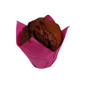 Маффин с шоколадной начинкой