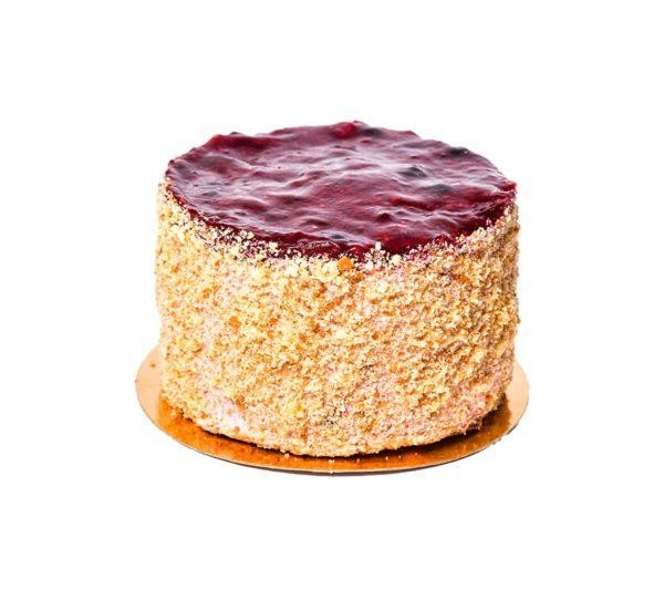 Торт Черная смородина в упаковке